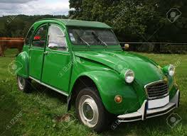 vintage citroen green citroen 2 cv stock photo picture and royalty free image
