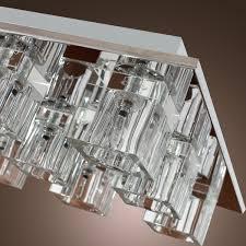 chandelier lights online lightinthebox k9 crystal flush mount with 9 lights in square