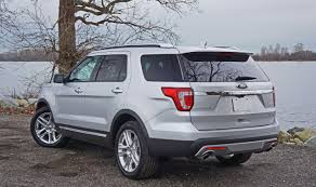 Ford Explorer Ecoboost - 2016 ford explorer limited 2 3l ecoboost 4wd road test review