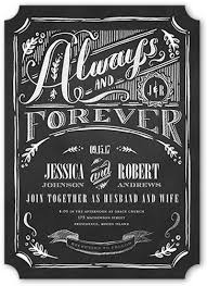 wedding invitations shutterfly always forever 5x7 stationery card by pottsdesign shutterfly