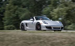 porsche boxster s 981 review 2013 porsche boxster s test review car and driver