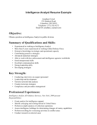 Job Qualifications Resume by Key Job Skills Qualifications On Resume Resume Template 2017