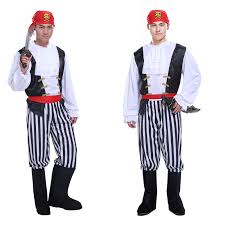 Captain Halloween Costume Kopen Wholesale Caribbean Captain Kostuum Uit China