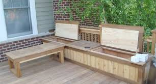 bench stunning intricate wicker deck box resin wicker and