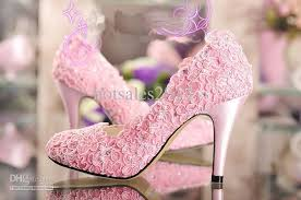 wedding shoes size 9 discount fashion designer pink wedding shoes high heel pumps wiht