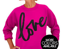 love sweatshirt etsy