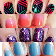 best pretty easy nail designs to do at home pictures decorating