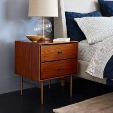 West Elm Bedroom Furniture by Heston Mid Century Nightstand White Lacquer West Elm Bedroom