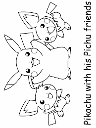 pokemon coloring pages pikachu coloring