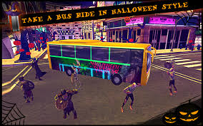 halloween bus city simulator android apps on google play
