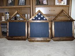 3x5 Flag Display Case With Certificate 3x5 Military Flag Box With 13 X 15 5 Certificate Shadow Box