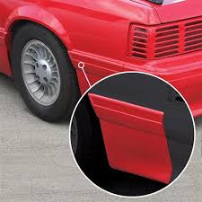 mustang quarter rear quarter panel molding driver s side 87 93