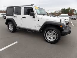 ford jeep 2013 used jeep wrangler unlimited 4wd 4dr sport at landers ford