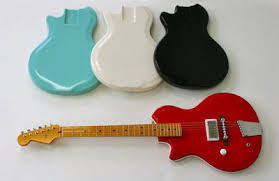 belmont res o glas wls semi hollow guitar body seafoam green