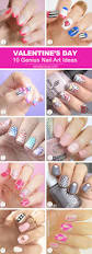 10 genius valentine u0027s day nail art ideas
