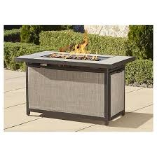 Target Outdoor Fire Pit - cosco outdoor serene ridge aluminum propane gas fire pit table
