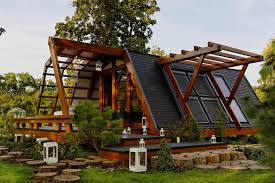 eco friendly house ideas elegant modern small sustainable homes design showcasing wooden