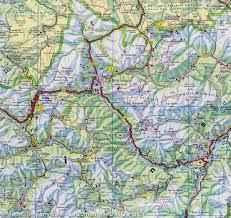 Map Of Austria And Italy by Map Of South Tyrol And Bolzano Area Austria Italy Freytag