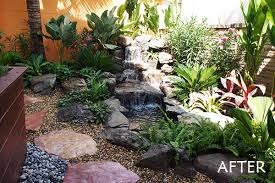 Rock Home Gardens Rock Pond And Tropical Rock Garden For Bangkok Family