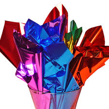 mylar tissue paper metallic sheets mylar like rolls