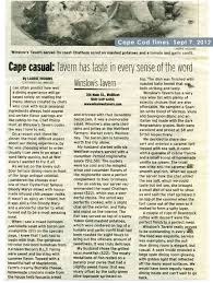 cape cod times review september 7 2012
