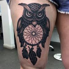 68 coolest dreamcatcher tattoos designs and ideas collection