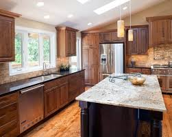 kitchen elegant white cabinets with granite countertops and latest