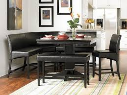 black dining table with bench unique dining table with bench black furniture mommyessence com in