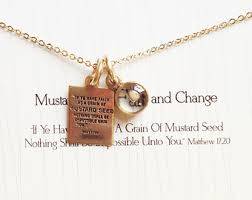 faith of a mustard seed necklace etsy your place to buy and sell all things handmade