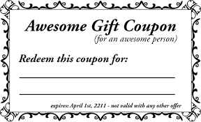 Free Coupon Template free coupon template printable custom coupons free template