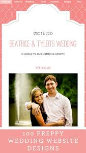 wedding web 25 best wedding website designs images on design