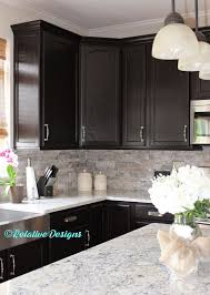 Awesome Kitchen Backsplash With Dark Cabinets Kitchen  Dark - Awesome kitchen ideas with dark cabinets home