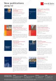 new publications 2016 17 by ernst u0026 sohn issuu