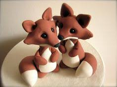 red fox wedding cake topper warranty protection by topthatcakeoff