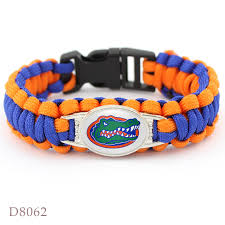 florida gator fan gift ideas 10 pcs florida gators collegiate sport team bracelet sport team