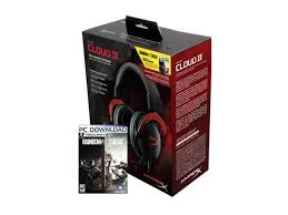 siege audio console hyperx cloud ii gaming headset with 7 1 surround sound