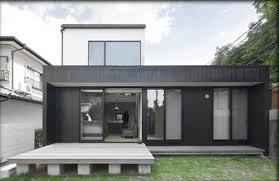 desain rumah multifungsi minimalis modern compact house gambar