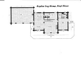 log home floor plan keplar home 2204 sq ft