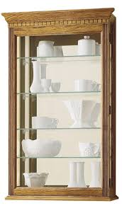 Oak Curio Cabinets Curio Cabinet Solid Wood Curio Cabinet From Dutchcrafters Amish