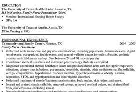 nurse practitioner resume examples nursing resume examples 01