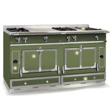 Used Cooktops For Sale New Never Used La Cornue Chateau 150 In Rush Green With Brushed