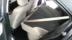 toyota corolla seats 2014 toyota corolla sedan checking out cargo space with back