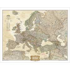 Geographical Map Of Europe by Europe Executive Wall Map National Geographic Store