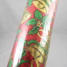 foil wrapping paper vintage rhapsody sculptured foil christmas wrapping paper roll