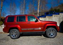 red jeep liberty 2010 jeep liberty nc dec 24th 2010 new daystar 2 inch lift and flickr