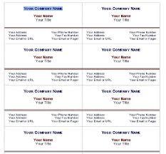 business card template word 2010 1 u2013 best samples templates