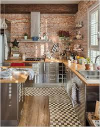 kitchen brick wallpaper for kitchen backsplash wall brookline