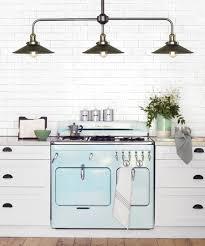 industrial style kitchen lights beacon lighting manor 3 light bar pendant in aged steel frame