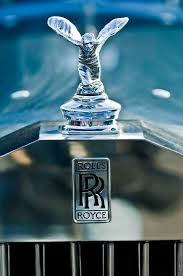 1952 rolls royce ornament photograph by reger
