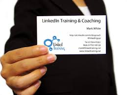 linkedin on business card are you sticking your business card in